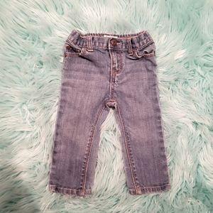 👑3/35👑 OSHKOSH skinny jeans - 6/9M